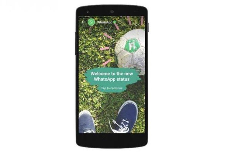 Fitur baru WhatsApp mirip Snapchat