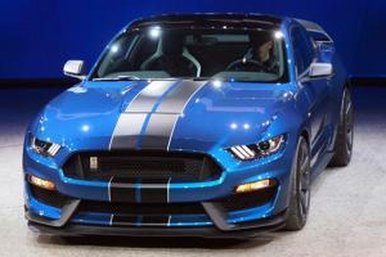 Ford Mustang GT350R.