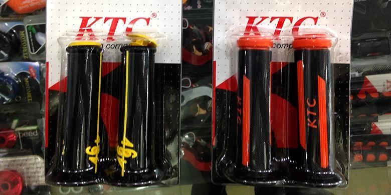 Handgrip merek KTC lebih banyak dicari meski harganya tidak cukup murah.
