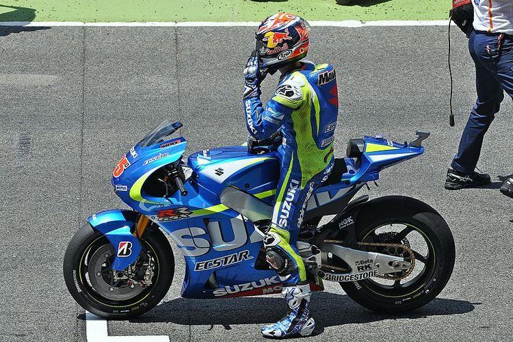 Maverick Vinales saat bergabung dengan Suzuki pada 2015