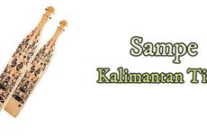 Sampek, Alat Musik Tradisional Kalimantan Timur