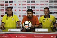 Pelatih Yakin Semen Padang Promosi ke Liga 1 2019