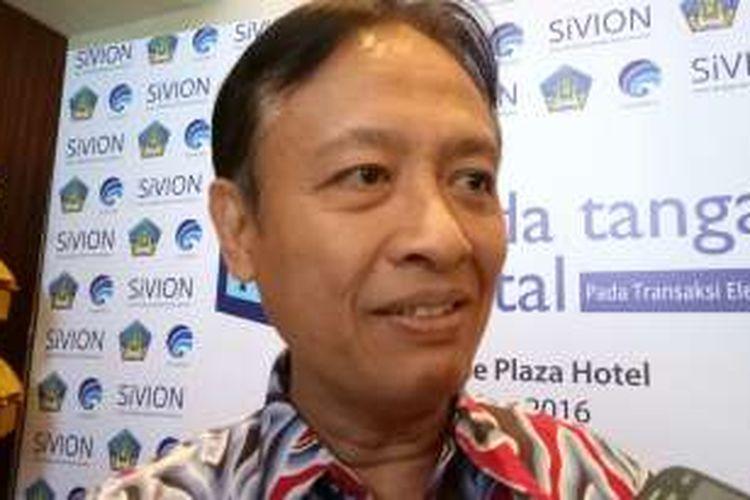 Henri Subiakto, Ketua Panja Revisi UU ITE dari pihak pemerintah.