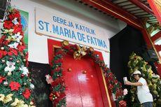 Gereja Santa Maria de Fatima di Glodok, Bangunan Gereja Mirip Klenteng