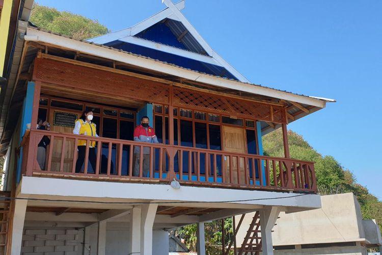 Pembangunan 656 unit Sarhunta di Labuan Bajo senilai total Rp 89 Miliar selesai dibangun