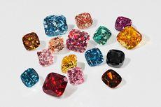 Berlian Buatan Aneka Warna dari Swarovski, Seperti Apa?