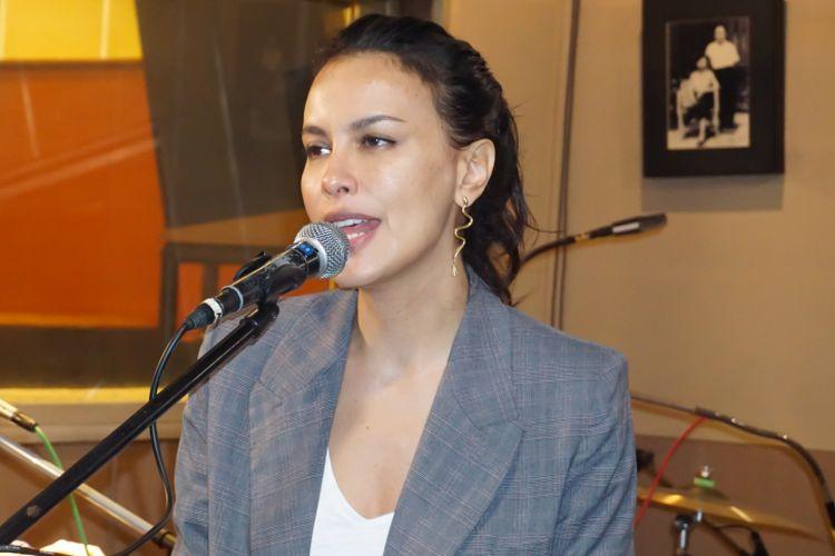 Sophia Latjuba dalam sesi latihan di Musica Studios, Jakarta Selatan, Jumat (26/1/2018).