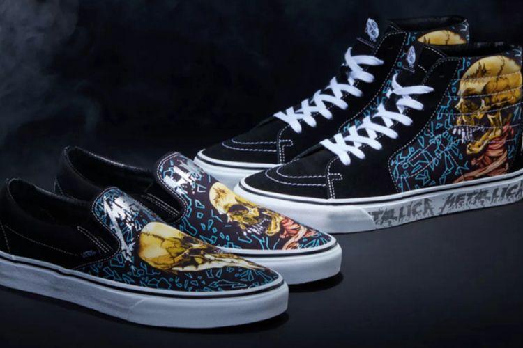 Vans x Metallica Collaboration