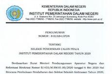 Seleksi Praja IPDN 2020, Ini Alur Pendaftaran, Jadwal Seleksi hingga Kuota per Provinsi