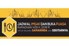 Jadwal Imsak dan Buka Puasa di Samarinda pada Hari Ini