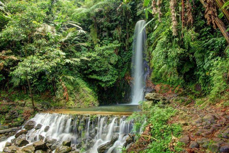 Tempat wisata di Bogor - Curug Ngumpet.