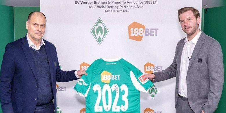 Kerja sama selama dua tahun tersebut akan menempatkan logo 188BET di lengan jersey pertandingan klub dari awal Februari 2021 di semua pertandingan Bundesliga dan Piala Jerman.
