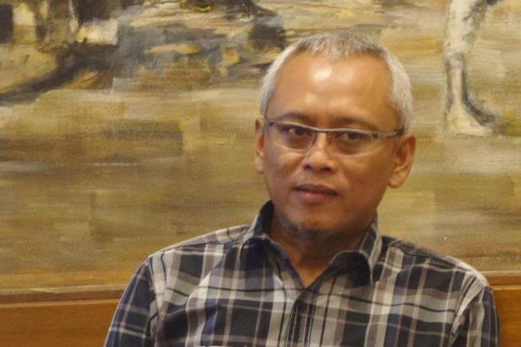 Anggota Komisi II DPR RI Arif Wibowo dalam diskusi di Jakarta, Minggu (8/1/2017).