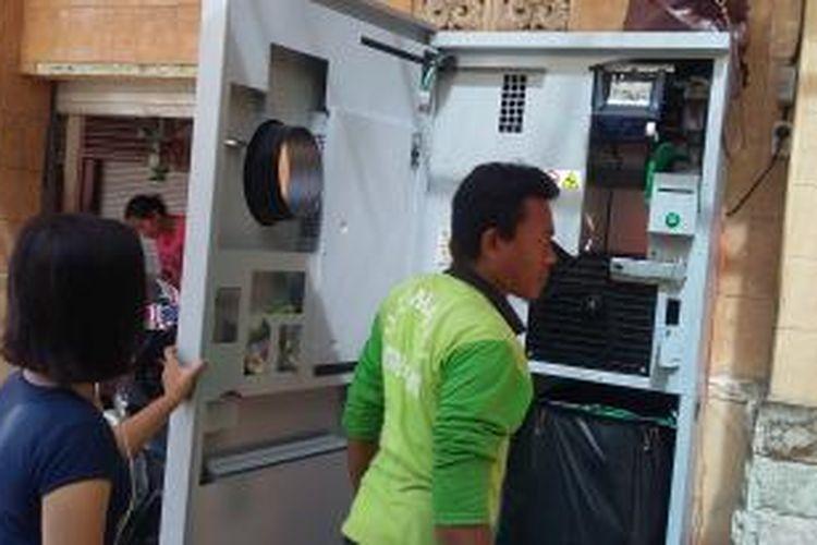 ATM Bank Sampah di Pasar Kreneng Denpasar