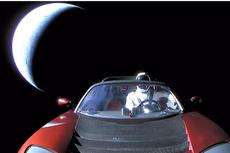 Enam Jam di Luar Angkasa Menuju Mars, Sampai Mana Mobil Tesla Elon Musk?