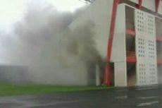 Stadion Sepak Bola di Bantul Kebakaran