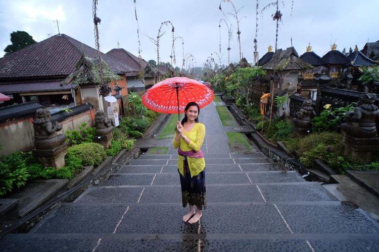 Desa Penglipuran yang berada di Bali masuk dalam Top 100 Destinasi Berkelanjutan Dunia bersama tiga desa wisata di Indonesia lainnya.