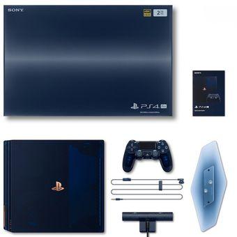 Paket penjualan PS4 Pro 500 Million Limited Edition.