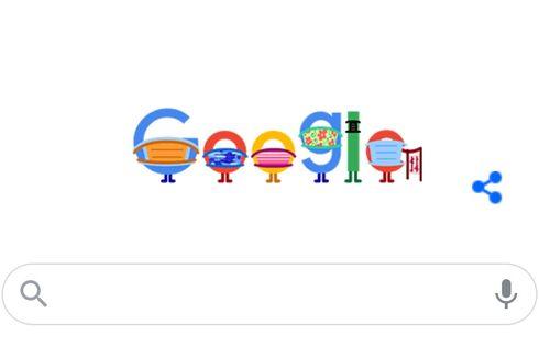 Google Doodle Pakai Masker Ganda, Apa Maknanya