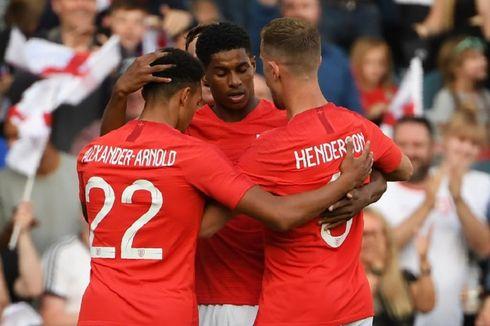 Rashford Nilai Belgia sebagai Ujian bagi Timnas Inggris