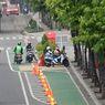 MTI Rekomendasi 3 Konsep Jalur Sepeda di Jakarta