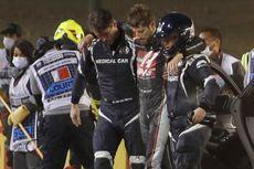 Kondisi Romain Grosjean Usai Crash sampai Mobil Terbakar di F1 GP Bahrain