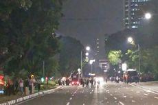 Dua Kali Diberi Peringatan Polisi, Akhirnya Buruh Bubarkan Diri