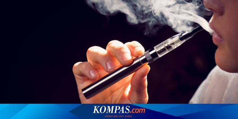 Pengguna Vape dan Perokok Lebih Rentan Tertular Co