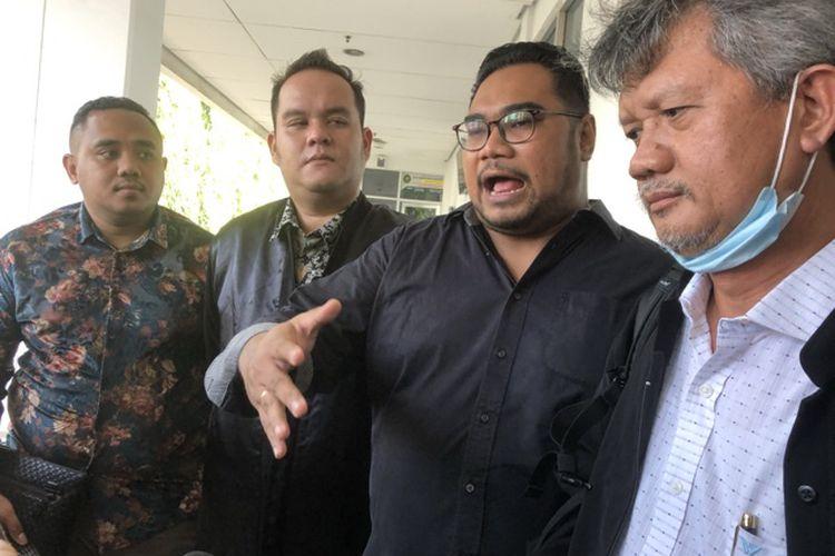 Kuasa Hukum Reza Artamevia, di Pengadilan Negeri Jakarta Timur, Kamis (20/5/2021).