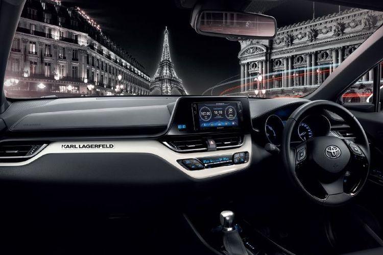 Toyota C-HR Edisi Karl Lagerfeld