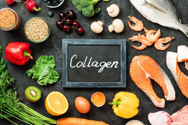 Ilustrasi kolagen