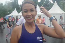 Hobi Olahraga Lari, Melanie Putria: Bikin Tetap Waras