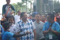 SBY Hadir Temani Agus Yudhoyono Beraktivitas di