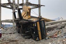 Satu Operator Resmi Jadi Tersangka Kasus Crane Terguling di Depok