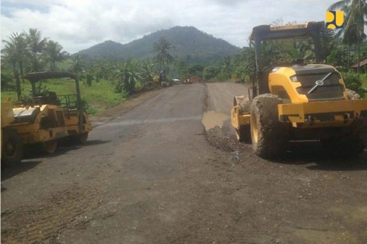 Tempat  Pemrosesan Akhir (TPA) Sampah Mamitarang di Kabupaten Minahasa Utara, Provinsi Sulawesi Utara,