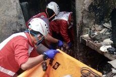 Sebuah Rumah Makan Padang Terbakar, Satu Orang Meninggal