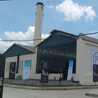 Bangunan bekas PG Colomadu di Kecamatan Colomadu, Karanganyar, Jawa Tengah.