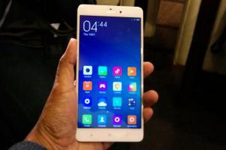 Smartphone flagship terbaru dari Xiaomi, Mi Note.