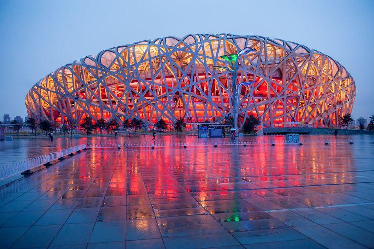 Stadion nasional beijing DOK. Shutterstock