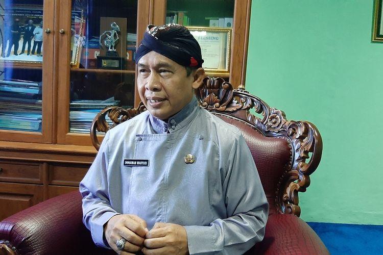 Wakil Bupati Gunungkidul Immawan Wahyudi di Kantornya Kamis (30/7/2020)