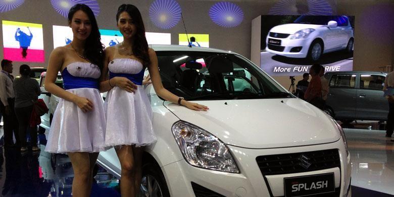 Suzuki Splash salah satu model yang mendapatkan diskon