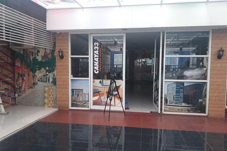 Lokasi Kantor PT Bahana Prima Nusantara, pemenang tender revitalisasi Monas di Jalan Nusa Indah, nomor 33, RT 01, RW 07, Ciracas, Jakarta Timur, Selasa (21/1/2020).