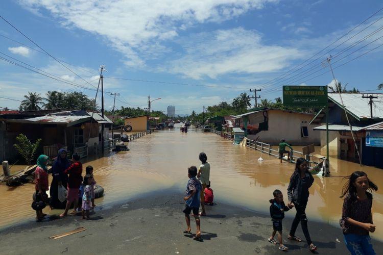 Banjir di Kota Bengkulu