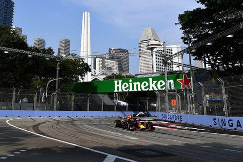 FP1 F1 GP Singapura, Red Bull Tercepat, Hamilton Terlempar