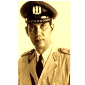 Kapolri pertama Indonesia Raden Said Soekanto yang menjabat pada 29 September 1945-14 Desember 1959.
