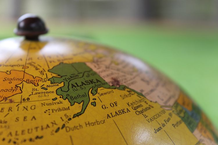 Ilustrasi Alaska