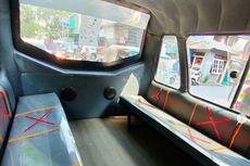 Aturan Jaga Jarak Penumpang di Angkot Mikrotrans