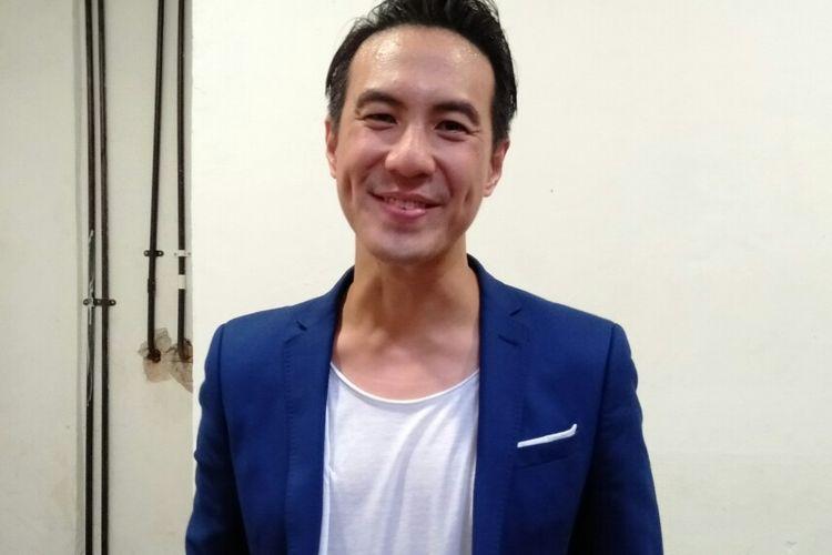 Daniel Mananta saat berada di sebuah acara di kawasan Blok M, Jakarta, Rabu (4/12/2019)