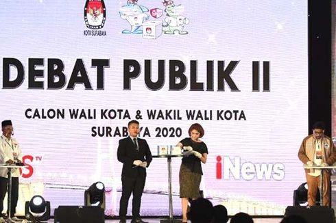 Debat Publik Pilkada Surabaya, Kedua Paslon Ungkap Gagasan Jaga Toleransi