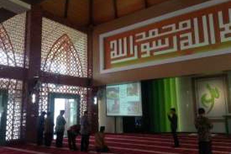 Masjid Nuurur Rahmaan, di Kementerian ATR/BPN, Jakarta.